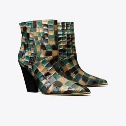 LILA PAINTED ANKLE BOOTIE