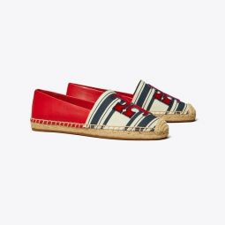 INES STRIPED FIL COUPE ESPADRILLE