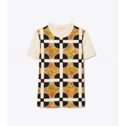 Quilted T-Shirt