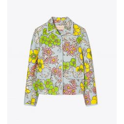 Wallpaper Floral Twill Crepe Jacket
