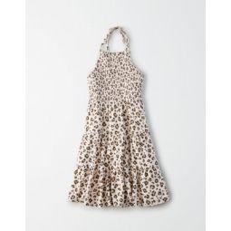 AE Smocked Halter Babydoll Dress