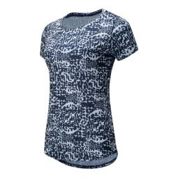 Womens Printed Accelerate Short Sleeve v2