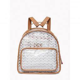 Monogram Transparent Backpack