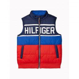 TH Kids Reversible Puffer Vest