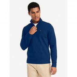 Essential Quarter Zip Mock Neck Sweatshirt