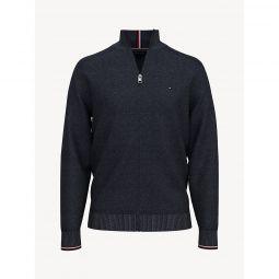 Essential Zip Cardigan