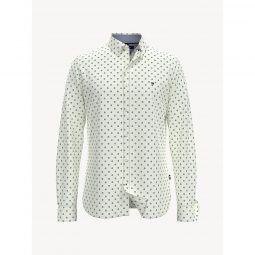Slim Fit Essential Print Shirt