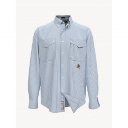 35th Anniversary Crest Stripe Oxford Shirt