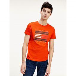 Organic Cotton Lines Logo T-Shirt