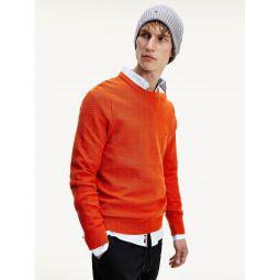 Organic Cotton Crewneck Sweater