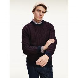 Organic Cotton Textured Sweater