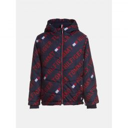 TH Kids Tommy Print Puffer