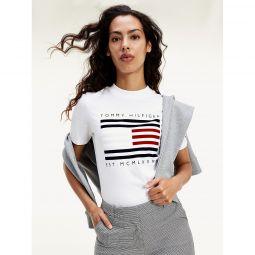 Organic Cotton Flock Flag T-Shirt