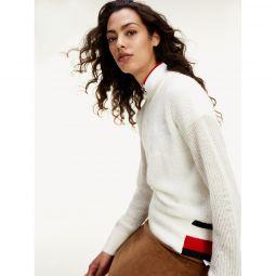 Mix Knit Signature Sweater
