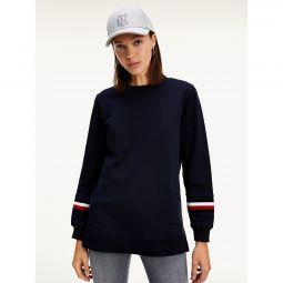 Organic Cotton Stripe Sweatshirt