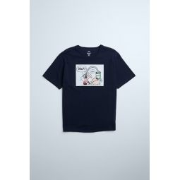 POPEYE  KING FEATURES PATCH T-SHIRT