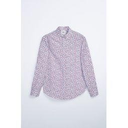 STRUCTURED FLORAL SHIRT