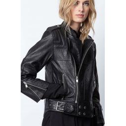 Liliam Leather Jacket