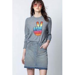 Lirius Peace Cachemire Sweater