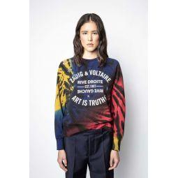 Upper Blason Tie Dye Sweatshirt