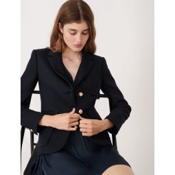 120VANAO College-style suit jacket