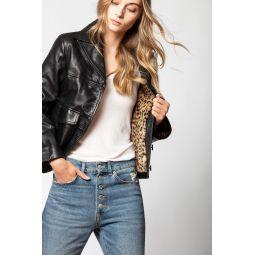 Lila Cuir Jacket