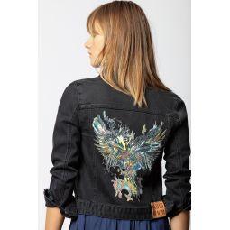 Kioky Grunge Eagle Jacket