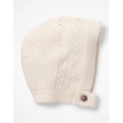 Cashmere Bonnet - Ecru