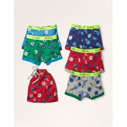 Boxers 5 Pack - Multi Sports