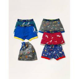 Boxers 5 Pack - Multi Space