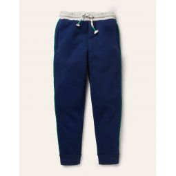 Cosy Shaggy-lined Joggers - College Navy