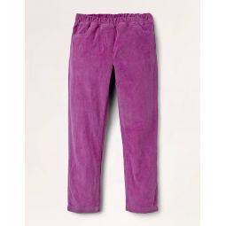 Cord Leggings - Dahlia Purple
