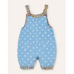 Cord Overalls - Frosted Blue