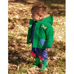 3-in-1 Jacket - Highland Green Dinos