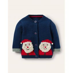 Christmas Cardigan - Starboard Santa