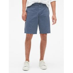 "10"" Vintage Khaki Print Shorts with GapFlex"