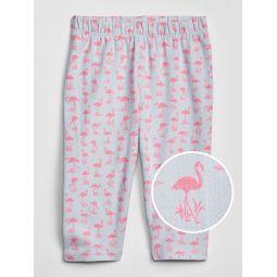 Toddler Crop Legging In Stretch Jersey