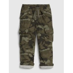 Toddler Lined Cargo Pants