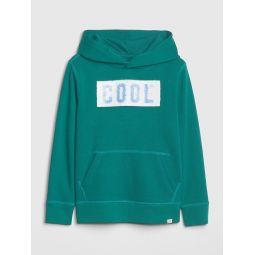 Kids Flippy Sequin Hoodie Sweatshirt