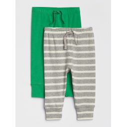 Baby Stripe Pull-On Pants (2-Pack)