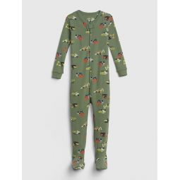 babyGap Digger PJ Footed One-Piece