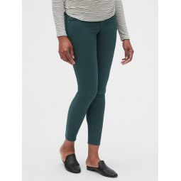 Maternity Full Panel True Skinny Jeans in Color