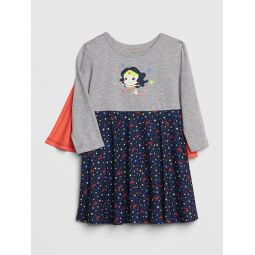 babyGap | DC™ Wonder Woman Cape PJ Dress
