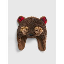 Toddler Bear Trapper Hat