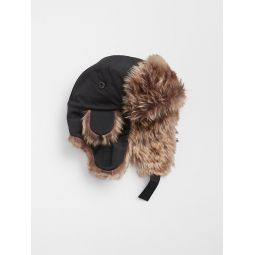 Toddler Faux-Fur Trapper Hat