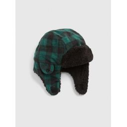 Toddler Sherpa Trapper Hat