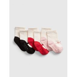Mary Jane Crew Socks (3-Pack)