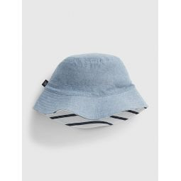 Kids Chambray Bucket Hat