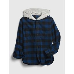 Kids Plaid Shirt Jacket