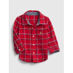 Baby Plaid Flannel Shirt